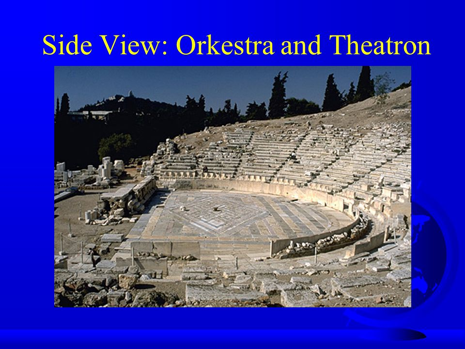 Side View: Orkestra and Theatron