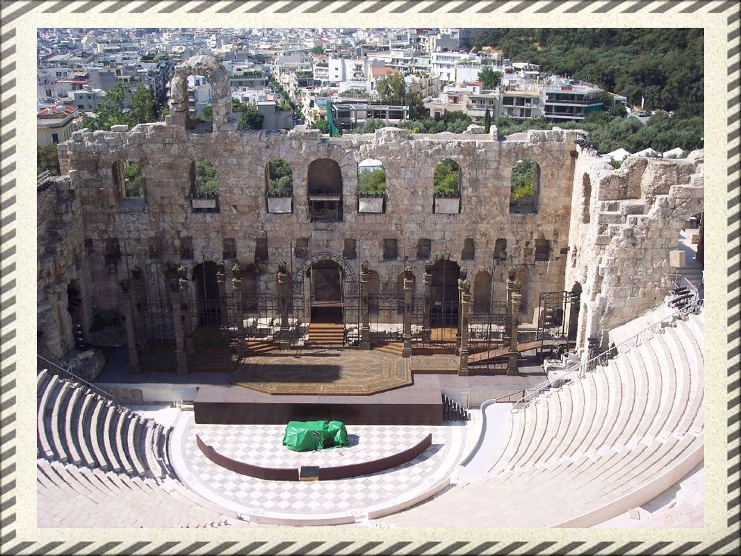 Greek Theater: The Chorus - background information, comments, praise to the gods
