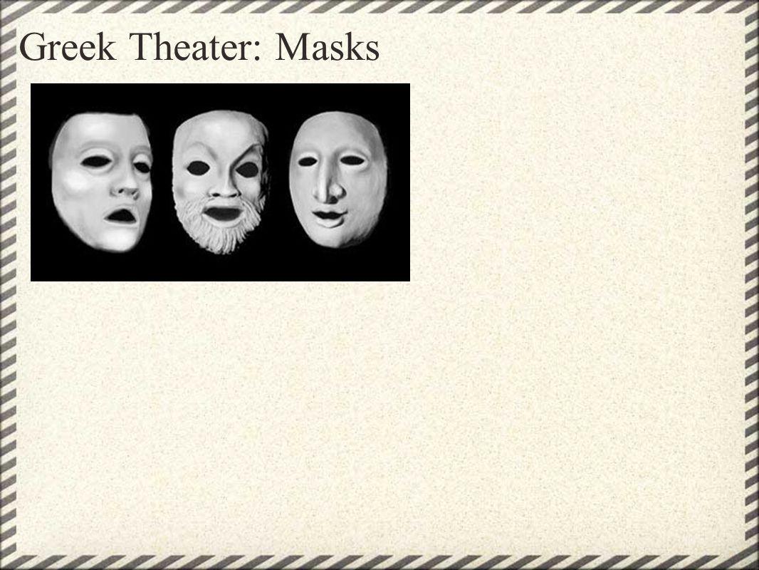 Greek Theater: Masks