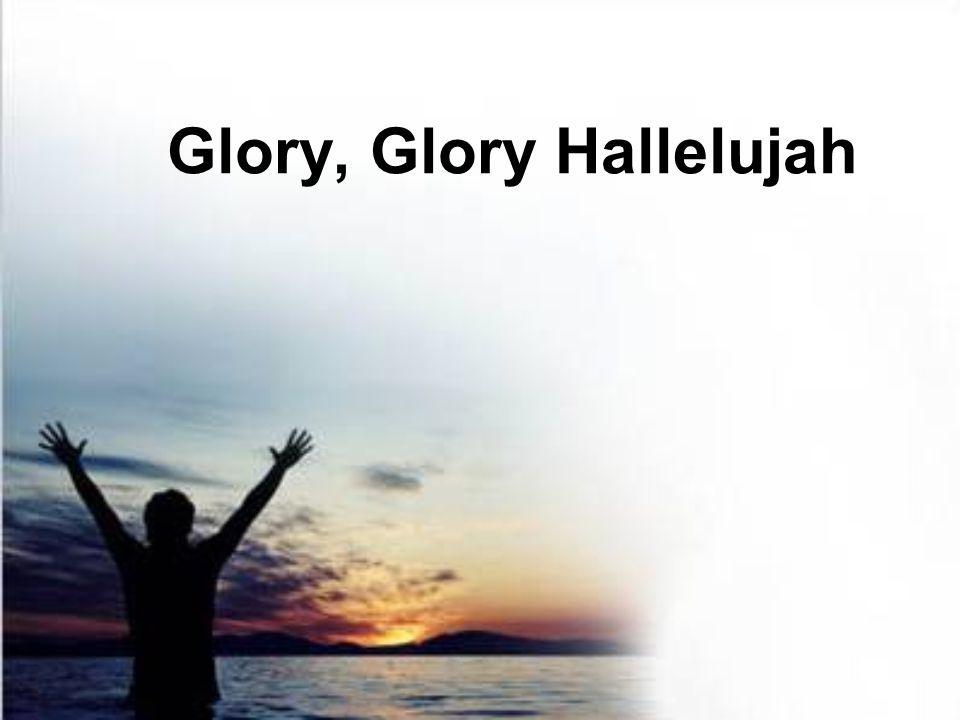 Glory, Glory Hallelujah