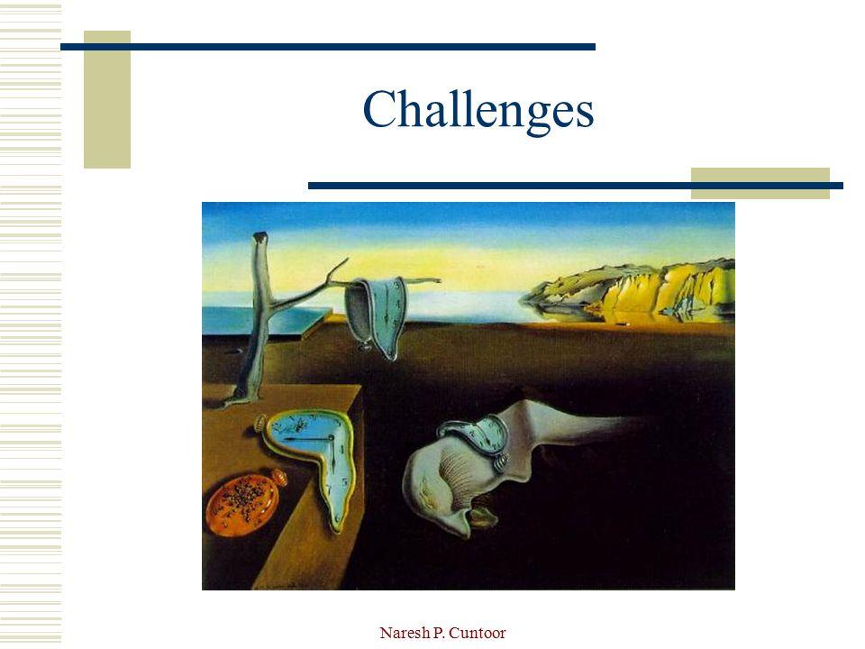 Naresh P. Cuntoor Challenges