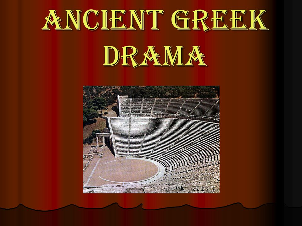 References Buckham, Philip Wentworth. (1827). Theatre of the Greeks. Retrieved May 17, 2006, from www.reference.com/browse/wiki/Greek_theatre Davidson