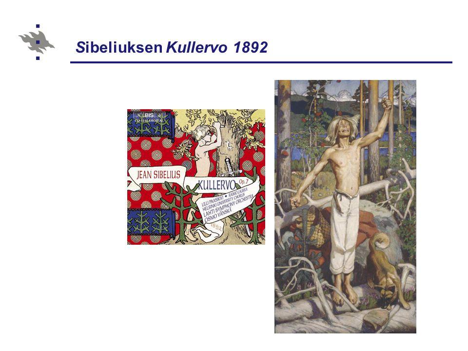 Sibeliuksen Kullervo 1892