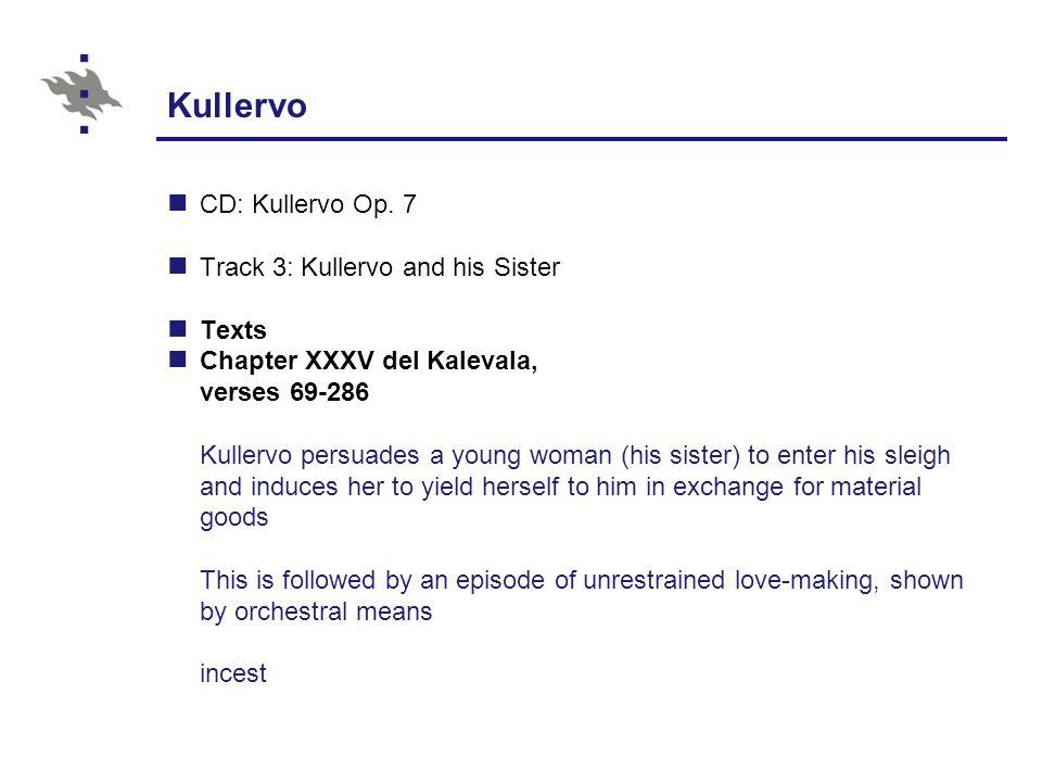 Kullervo CD: Kullervo Op.