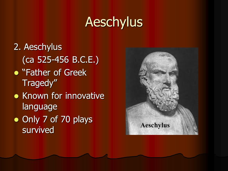 Aeschylus 2.