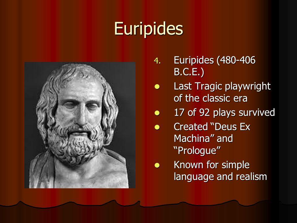 Euripides 4.