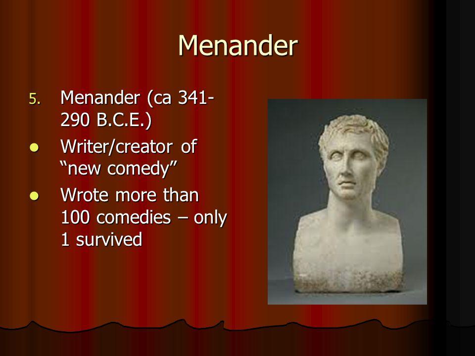 Menander 5.