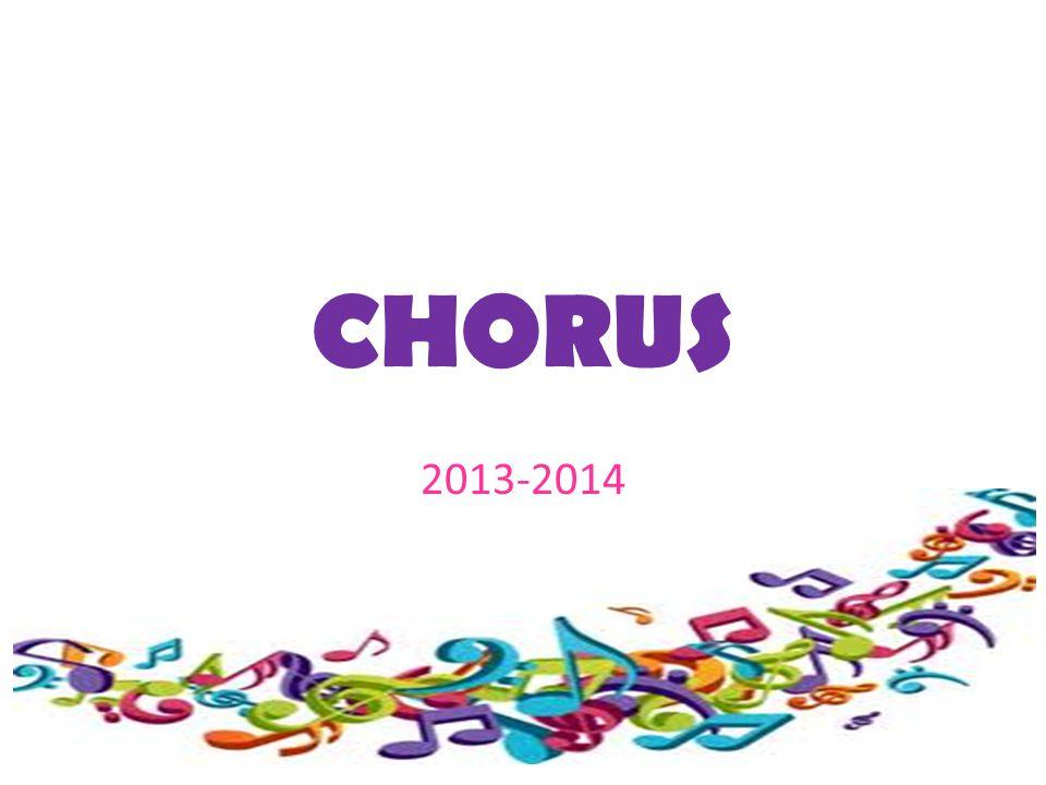 CHORUS 2013-2014