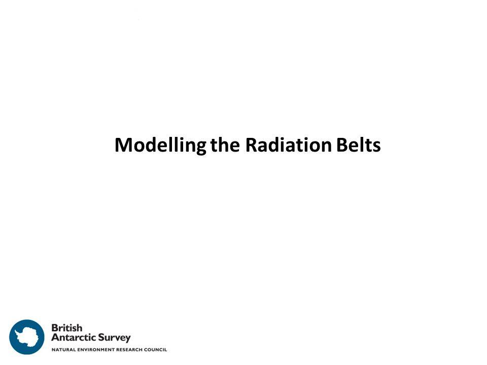 Modelling the Radiation Belts