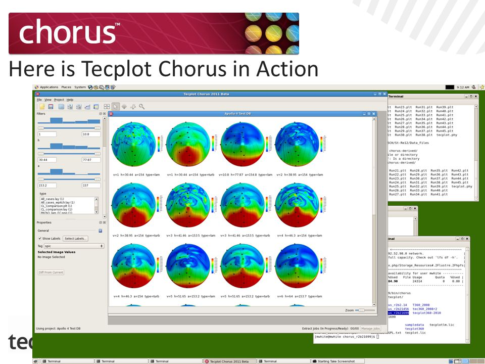 Here is Tecplot Chorus in Action
