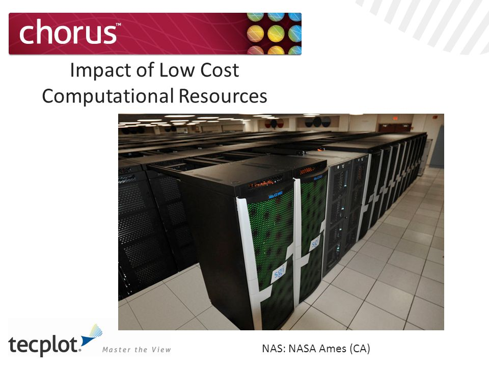 Impact of Low Cost Computational Resources NAS: NASA Ames (CA)