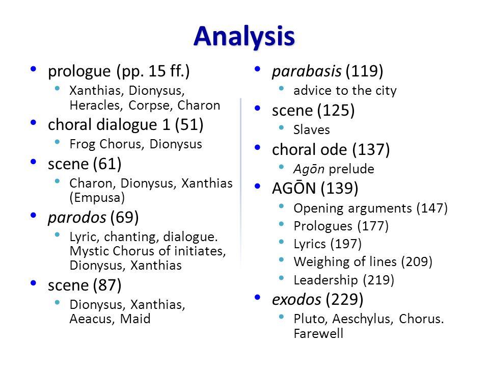 Background, Themes Production (405 BCE) Lenaea (Jan/Feb) 1st prize Political Crises 413 Sicilian Disaster 411 Exile of oligarchs 406 Aegospotamoi Poet