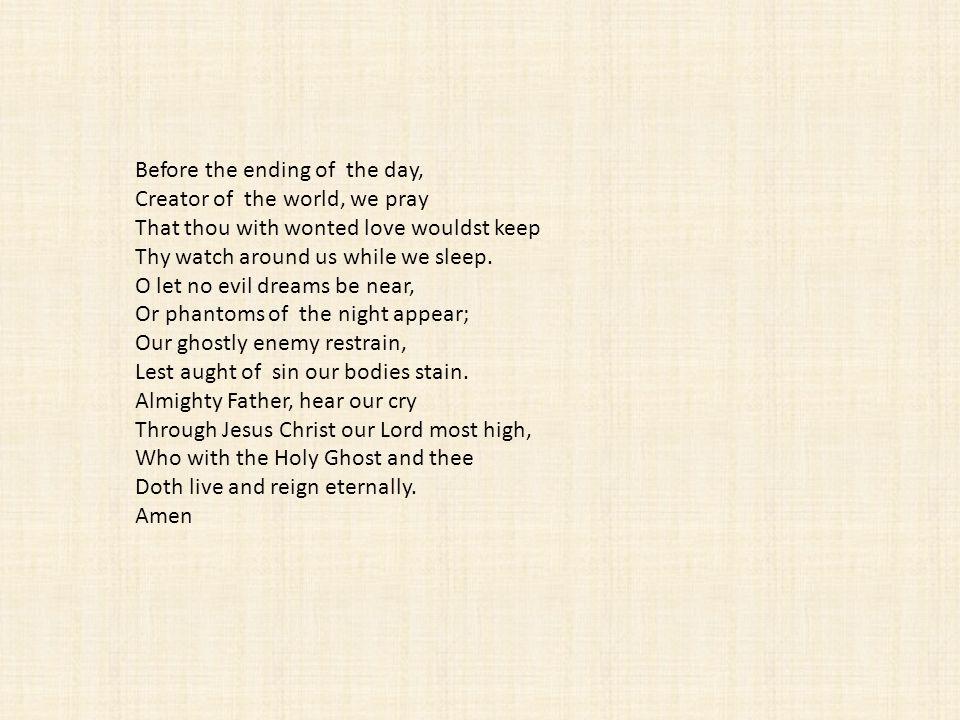 Keep me as the apple of an eye.Hide me under the shadow of thy wings.