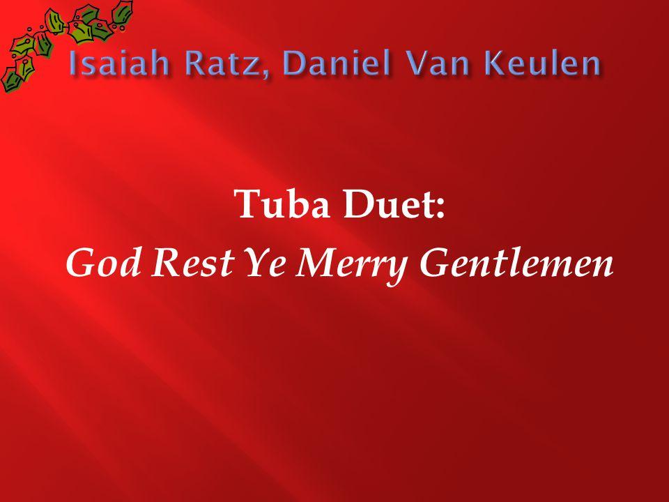 Tuba Duet: God Rest Ye Merry Gentlemen