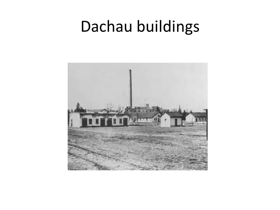 Dachau buildings