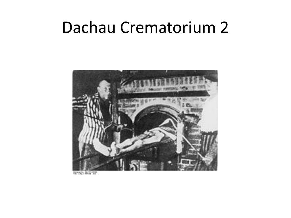 Dachau Crematorium 2