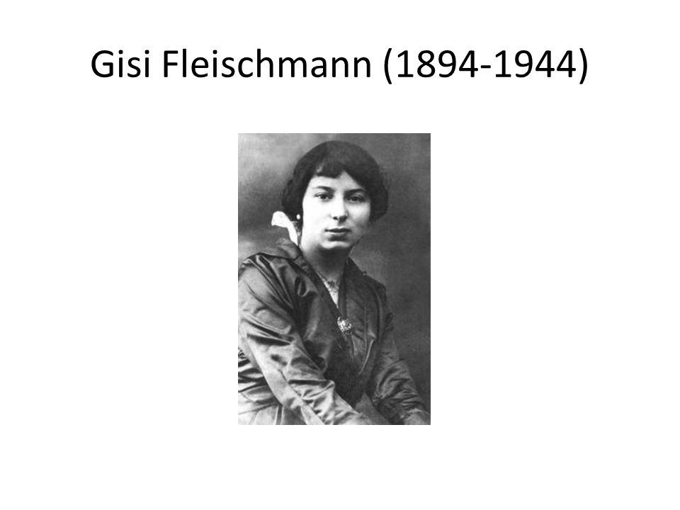 Gisi Fleischmann (1894-1944)