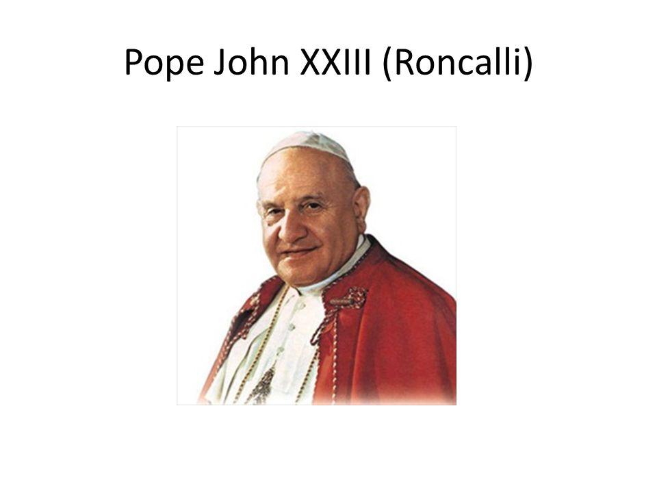 Pope John XXIII (Roncalli)