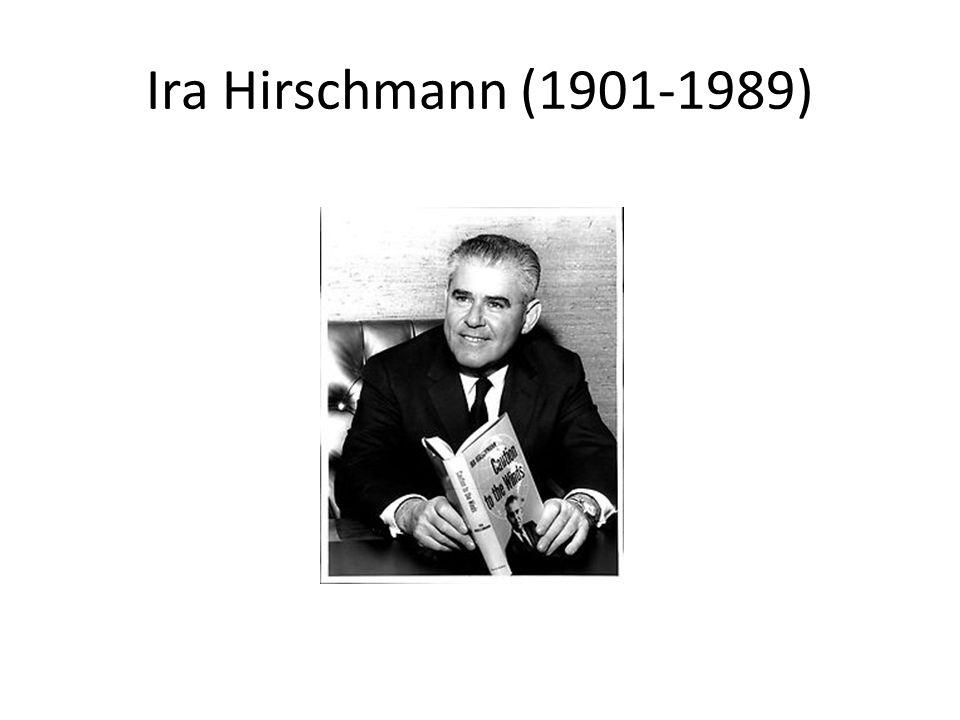 Ira Hirschmann (1901-1989)