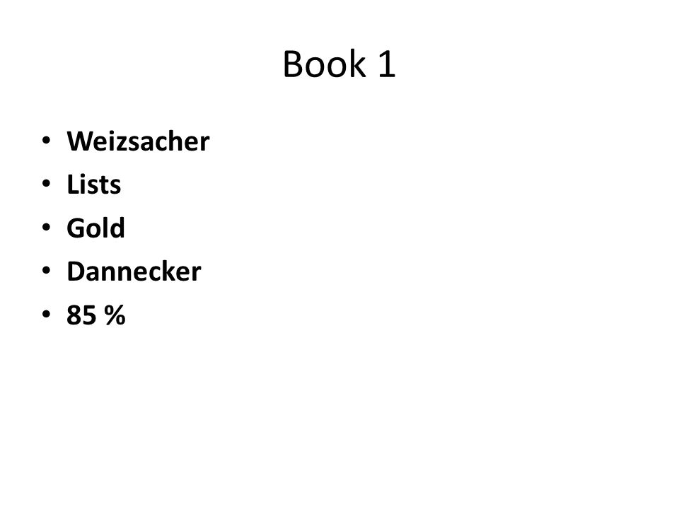 Book 1 Weizsacher Lists Gold Dannecker 85 %