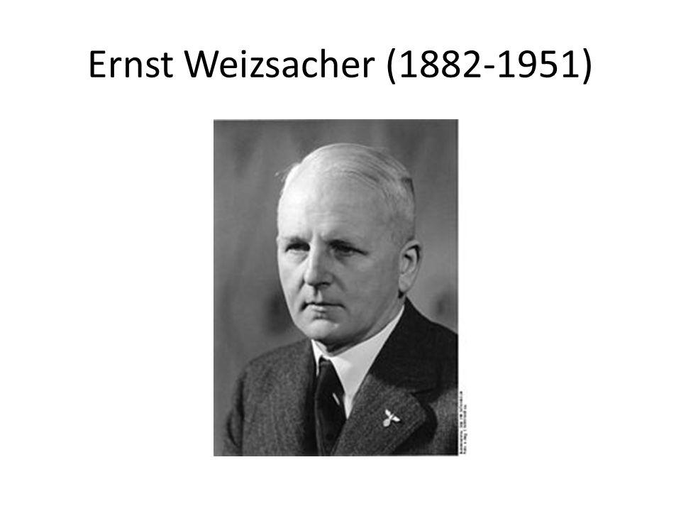 Ernst Weizsacher (1882-1951)