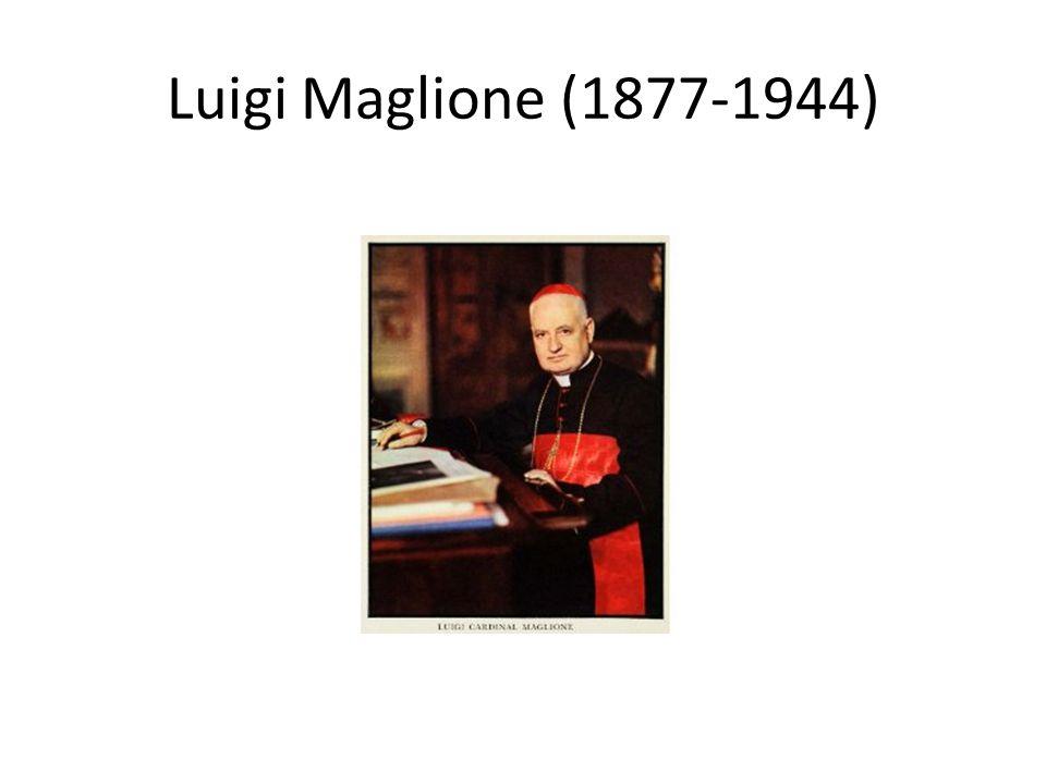 Luigi Maglione (1877-1944)
