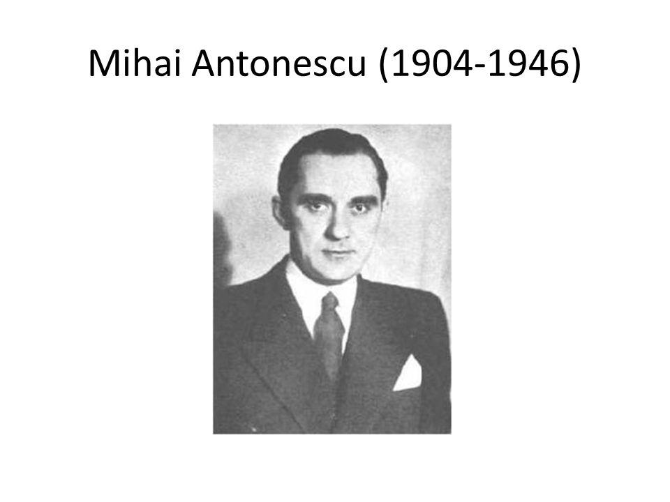 Mihai Antonescu (1904-1946)