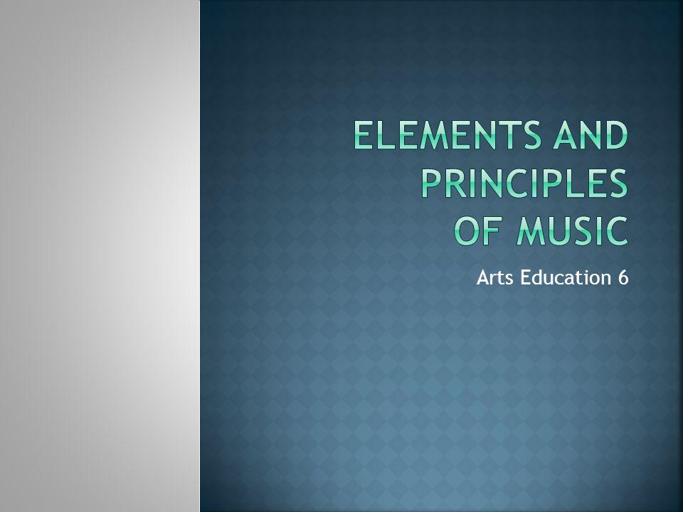 Arts Education 6