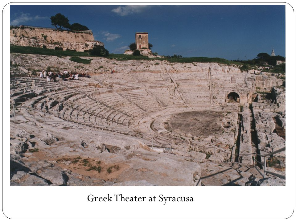 Greek Theater at Syracusa
