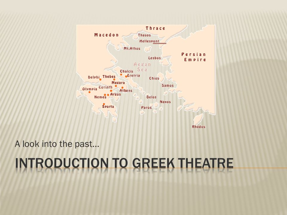 8.0 Students will understand context by analyzing the role of theatre in the past and the present.
