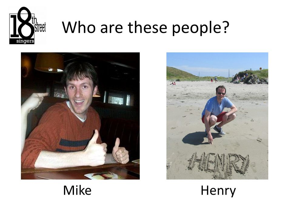 Who are these people Mike Henry