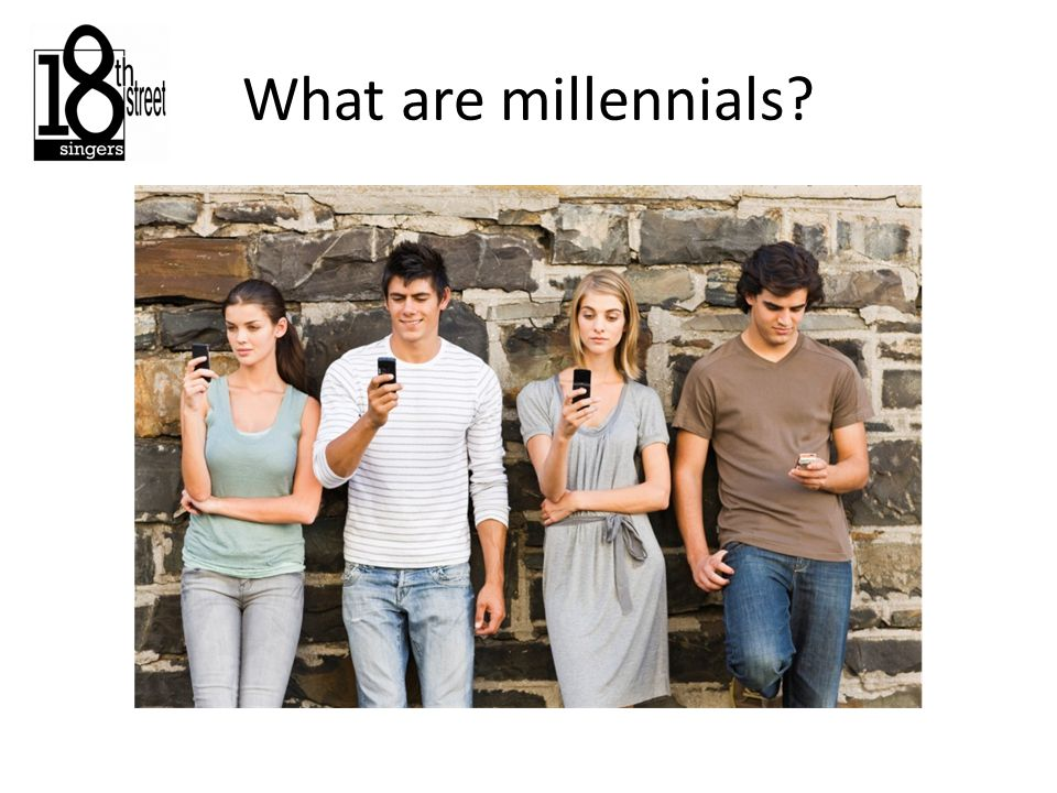 What are millennials