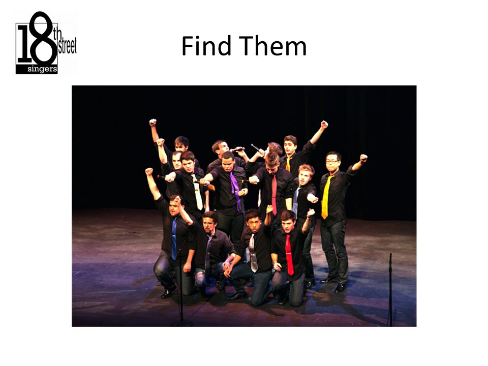 Our Ethos: The Urban Family The social aspect makes the singing better Choir members are more than just singers
