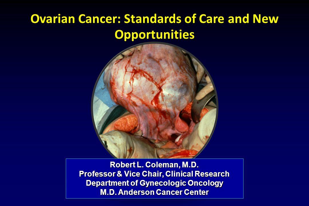 Ovarian Cancer: Novel Targets Matei, Expert Opin Investig Drugs (2007) 16:1227