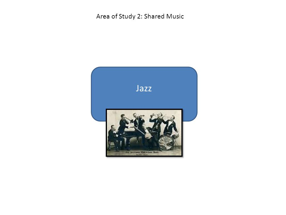 Jazz Area of Study 2: Shared Music