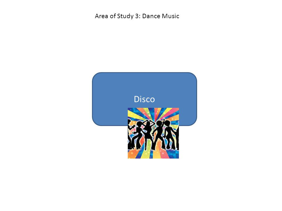 Disco Area of Study 3: Dance Music
