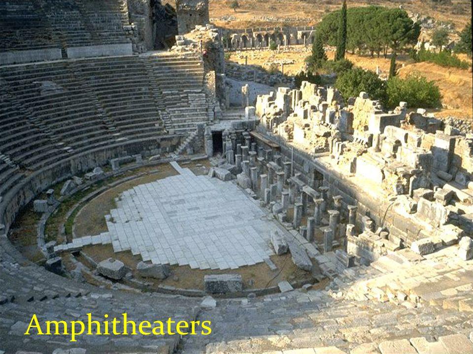 Amphitheaters
