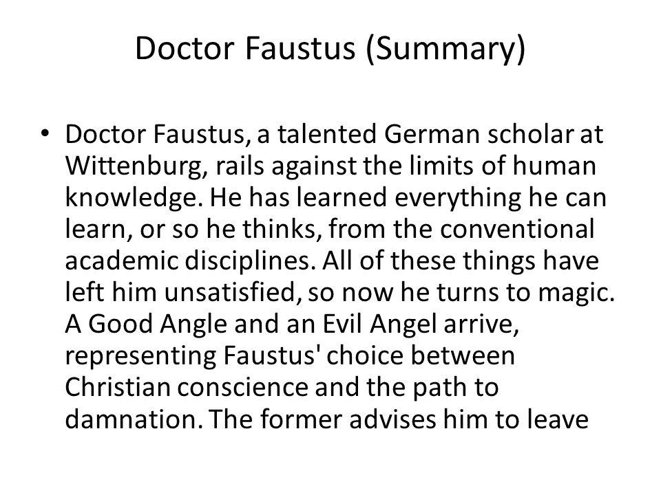 pride the tragic downfall of faustus