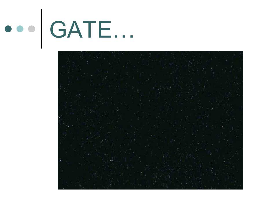 GATE…