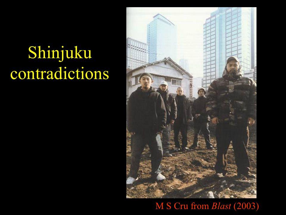 Shinjuku contradictions M S Cru from Blast (2003)