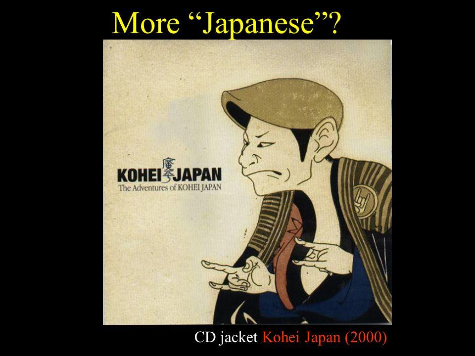 CD jacket Kohei Japan (2000) More Japanese ?