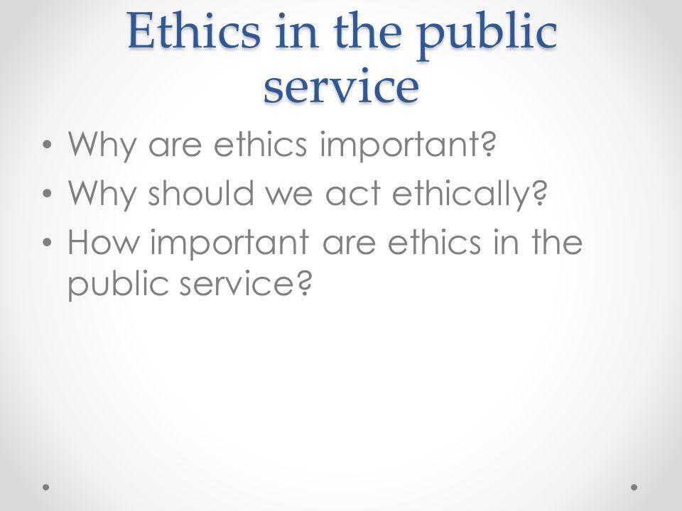 General Ethics Principals 5 C.F.R.