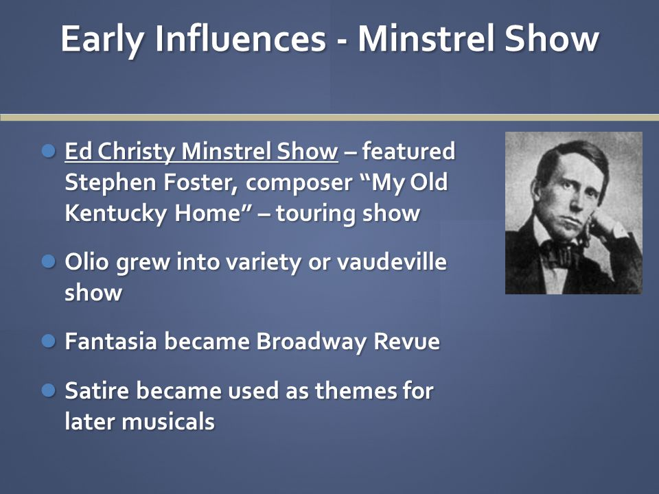 Christy Minstrels - 1847 Part 2 – The Olio