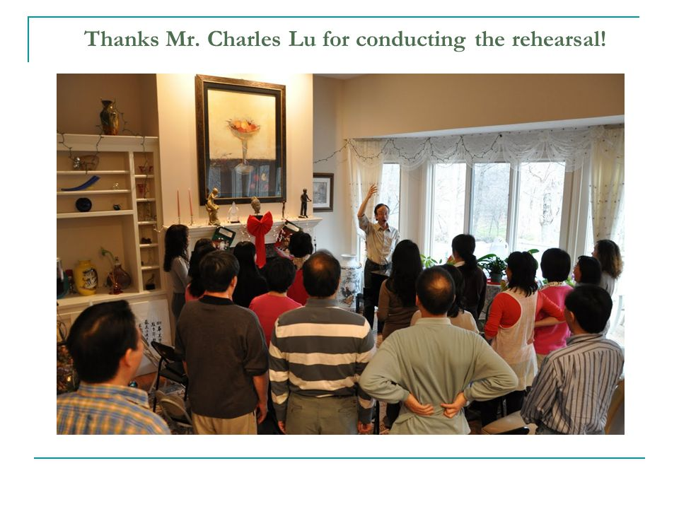 Thanks our artistic director Mr. Chai-lun Yueh for directing, conducting and teaching us!
