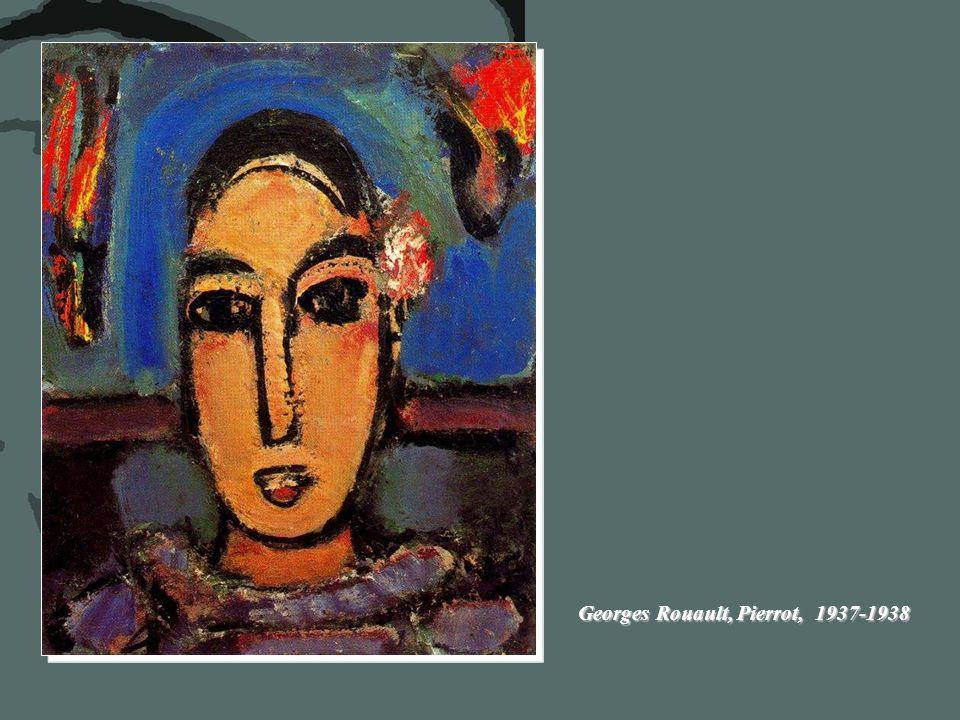 Georges Rouault, Pierrot,1948 Georges Rouault, Pierrot, C. 1937 – 38