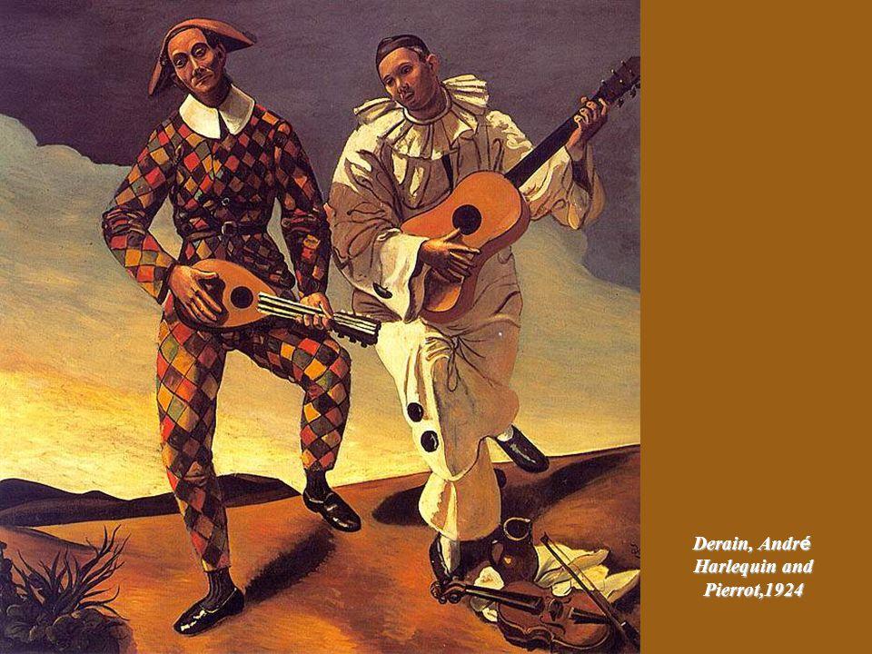 Severini, Gino Pierrot with Flute, ca.