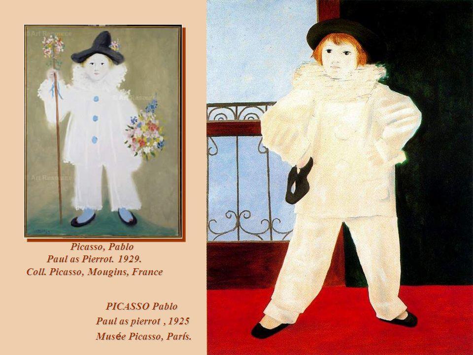 Macke, August Pierrot, 1913. Museum der Stadt Bielefeld, Bielefeld, Germany