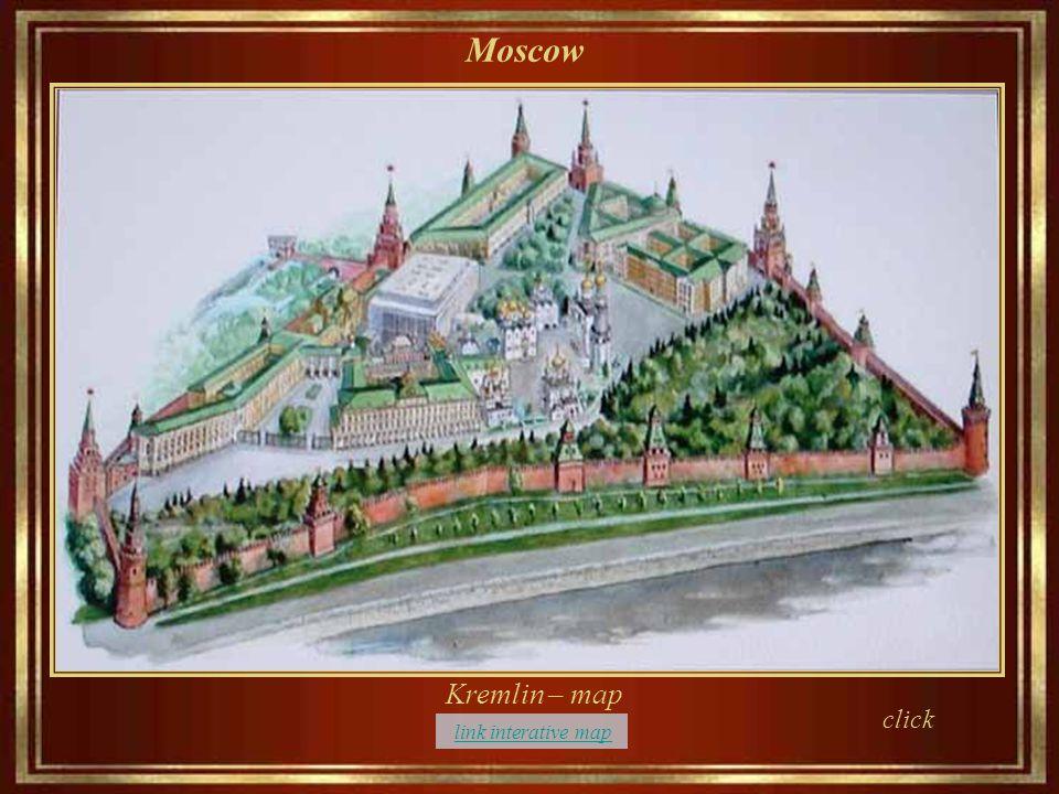 Moskwa river - Kremlin riverside Moscow