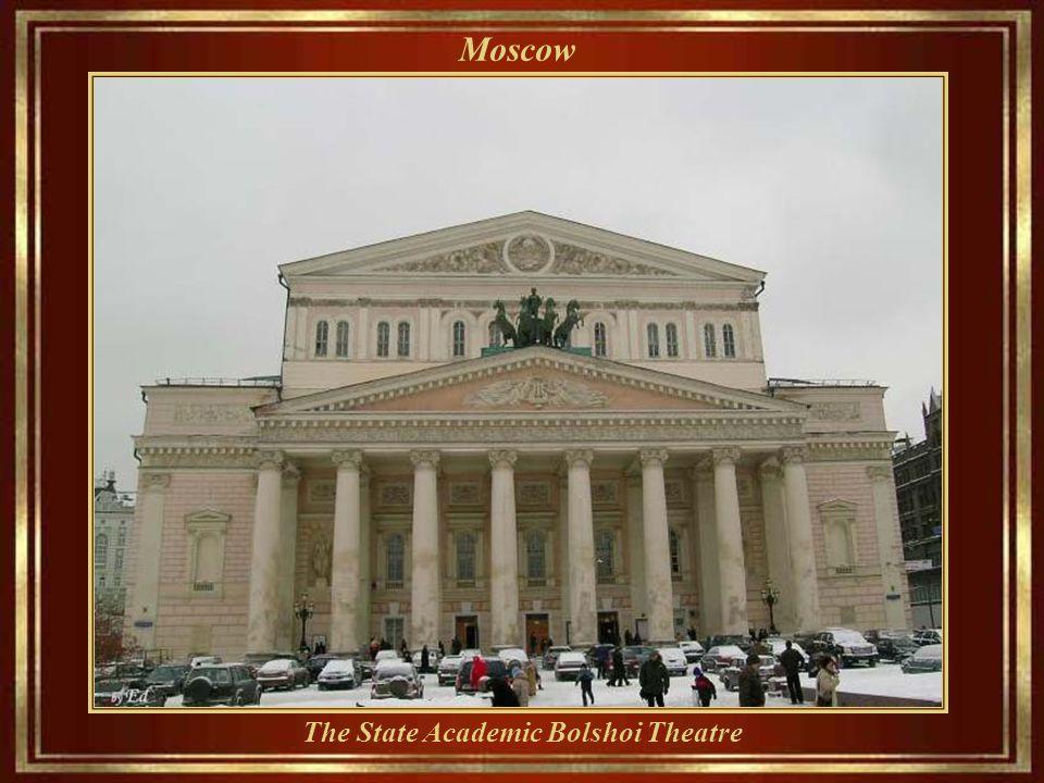 Moscow Turandot restaurant