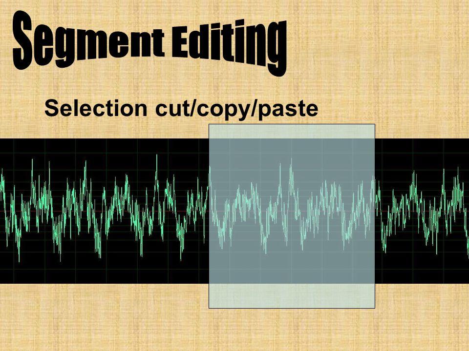 Selection cut/copy/paste